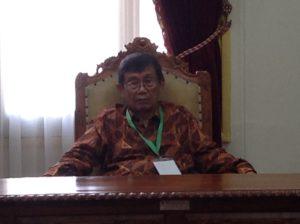 Ajip Rosidi Ketua Dewan Pembina Yayasan Rancage, Ajip Rosidi /ahm