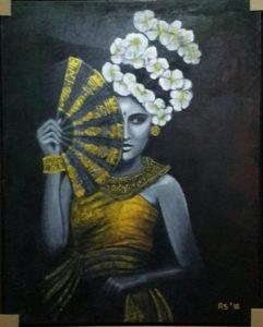 """Ranny Saraswati dengan karya """"Balinese Dancer"""""""