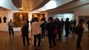 Foto Pembukaan Pameran Seni Grafis Gandaan & Ekspansi yang berlangsung pada 31 Oktober 2018. Pameran akan berlangsung sampai 15 November 2018 di Galeri Sumardja ITB, Jalan Ganesa Bandung./dok SS