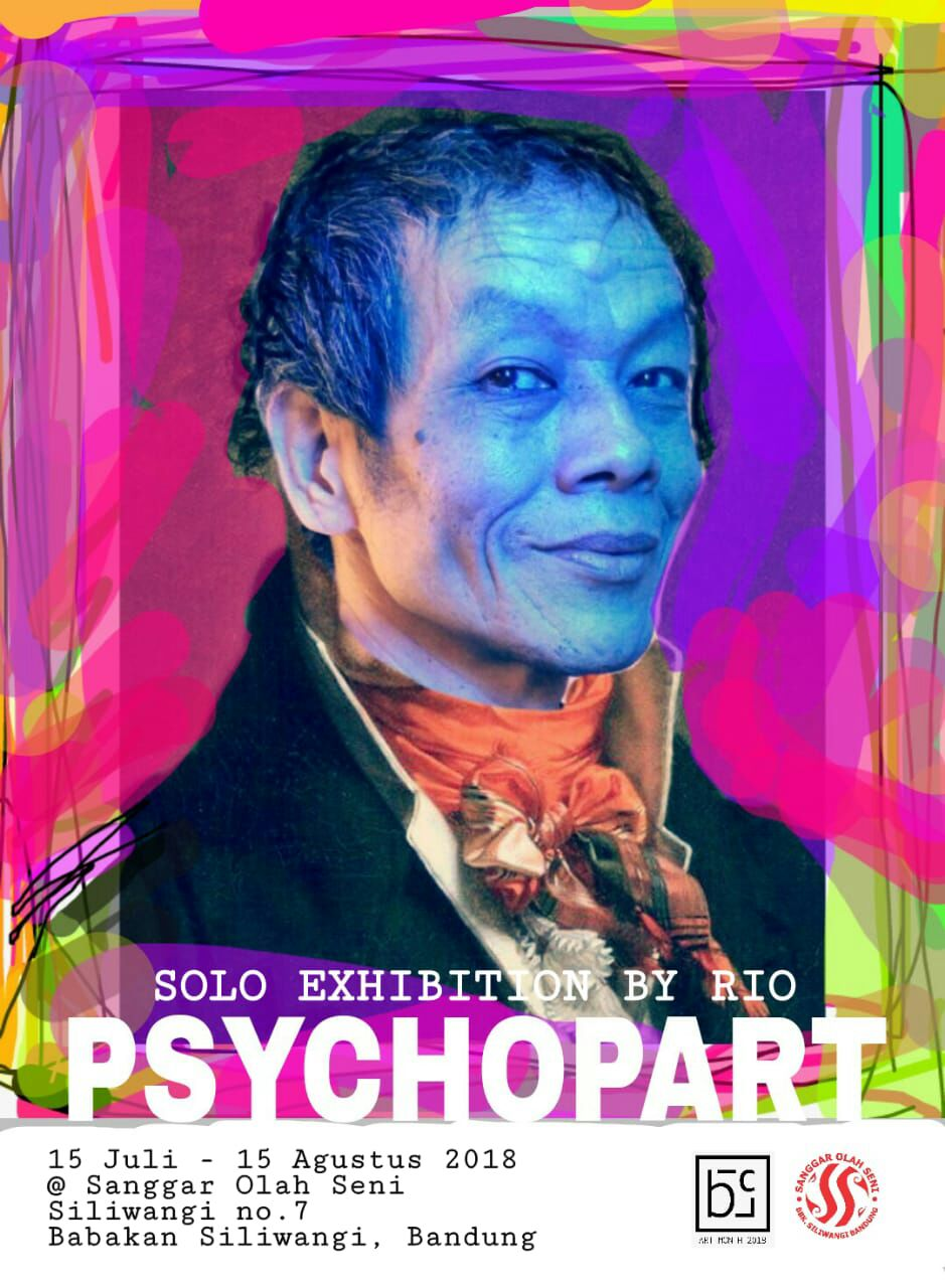 Psychopart Pameran Tunggal Rio Angsina Di Sanggar Olah Seni Bandung